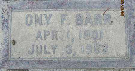 BARR, ONY FITZGERALD - Sutter County, California | ONY FITZGERALD BARR - California Gravestone Photos