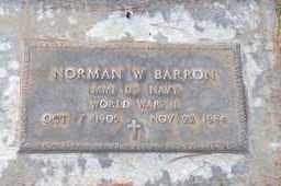 BARRON, NORMAN WALTER - Sutter County, California   NORMAN WALTER BARRON - California Gravestone Photos