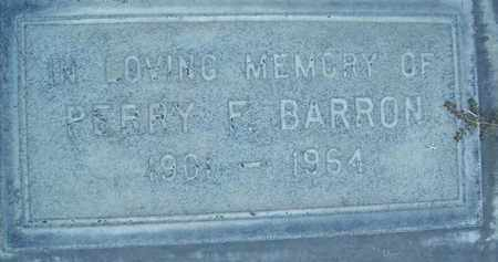 BARRON, PERRY F. - Sutter County, California | PERRY F. BARRON - California Gravestone Photos
