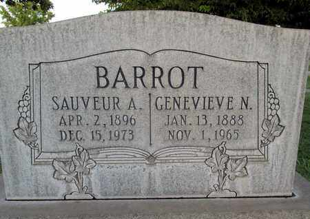 BARROT, GENEVIEVE N. - Sutter County, California | GENEVIEVE N. BARROT - California Gravestone Photos