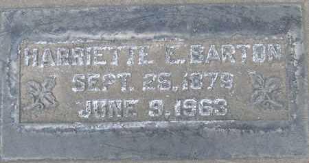 BARTON, HARRIETTE E. - Sutter County, California   HARRIETTE E. BARTON - California Gravestone Photos