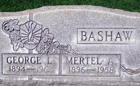 BASHAW, GEORGE L. - Sutter County, California | GEORGE L. BASHAW - California Gravestone Photos
