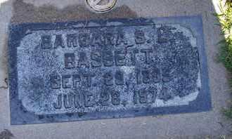 BASSETT, BARBARA L. SMITH - Sutter County, California | BARBARA L. SMITH BASSETT - California Gravestone Photos