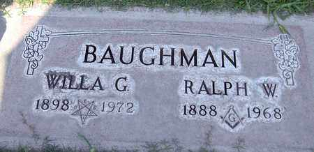 BAUGHMAN, WILLA G. - Sutter County, California | WILLA G. BAUGHMAN - California Gravestone Photos
