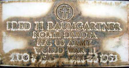 BAUMGARTNER, FREDERICK HENRY - Sutter County, California | FREDERICK HENRY BAUMGARTNER - California Gravestone Photos