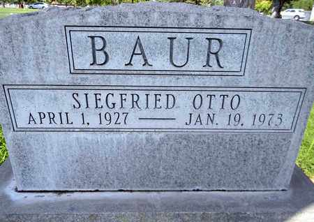 BAUR, SIEGFRIED OTTO - Sutter County, California | SIEGFRIED OTTO BAUR - California Gravestone Photos