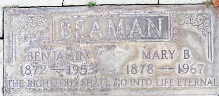 BEAMAN, BENJAMIN - Sutter County, California | BENJAMIN BEAMAN - California Gravestone Photos