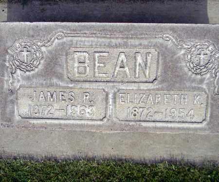 BEAN, ELIZABETH K. - Sutter County, California | ELIZABETH K. BEAN - California Gravestone Photos