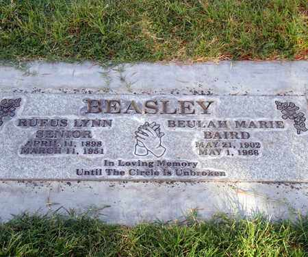 BEASLEY, SENIOR, RUFUS LYNN - Sutter County, California | RUFUS LYNN BEASLEY, SENIOR - California Gravestone Photos