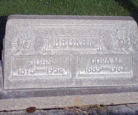 BECKER, JOHN - Sutter County, California | JOHN BECKER - California Gravestone Photos