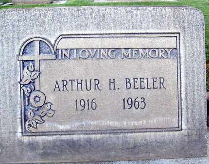 BEELER, ARTHUR H. - Sutter County, California | ARTHUR H. BEELER - California Gravestone Photos