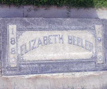 BEELER, ELIZABETH - Sutter County, California | ELIZABETH BEELER - California Gravestone Photos