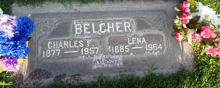 BELCHER, LENA - Sutter County, California | LENA BELCHER - California Gravestone Photos
