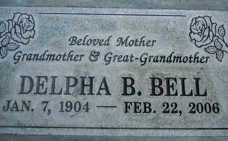 BELL, DELPHA BEATRICE - Sutter County, California   DELPHA BEATRICE BELL - California Gravestone Photos