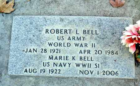 BELL, ROBERT LESLLIE - Sutter County, California | ROBERT LESLLIE BELL - California Gravestone Photos