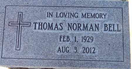 BELL, THOMAS NORMAN - Sutter County, California | THOMAS NORMAN BELL - California Gravestone Photos