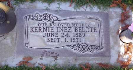 BELOTE, KERNIE INEZ - Sutter County, California | KERNIE INEZ BELOTE - California Gravestone Photos