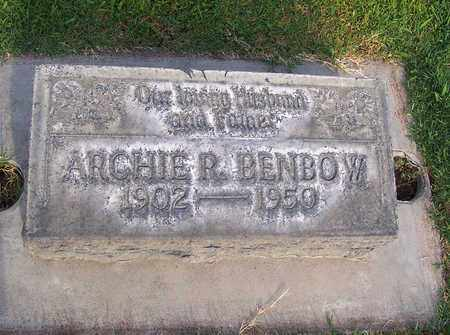 BENBOW, ARCHIE RIVER - Sutter County, California | ARCHIE RIVER BENBOW - California Gravestone Photos