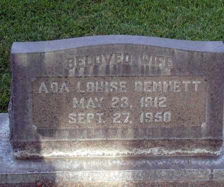 BENNETT, ADA LOUISE - Sutter County, California | ADA LOUISE BENNETT - California Gravestone Photos