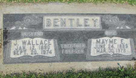 BENTLEY, JOSEPH WALLACE - Sutter County, California | JOSEPH WALLACE BENTLEY - California Gravestone Photos