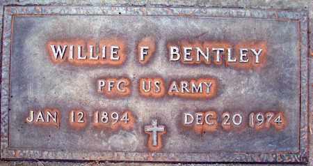 BENTLEY, WILLIE FRANKLIN - Sutter County, California | WILLIE FRANKLIN BENTLEY - California Gravestone Photos