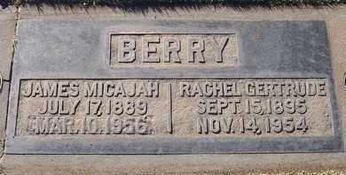 BERRY, JAMES MICAJAH - Sutter County, California | JAMES MICAJAH BERRY - California Gravestone Photos