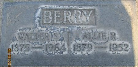 BERRY, ALLIE ROBINSON - Sutter County, California   ALLIE ROBINSON BERRY - California Gravestone Photos