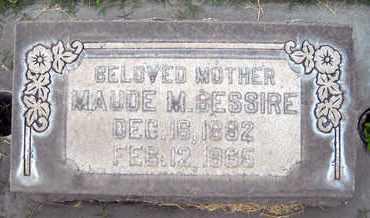 BESSIRE, MAUDE M. - Sutter County, California | MAUDE M. BESSIRE - California Gravestone Photos