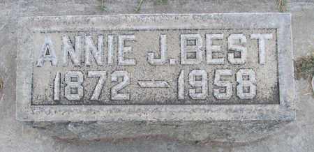 BEST, ANNIE JANE - Sutter County, California | ANNIE JANE BEST - California Gravestone Photos