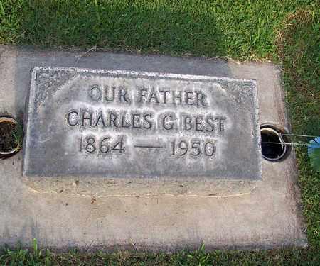 BEST, CHARLES G. - Sutter County, California | CHARLES G. BEST - California Gravestone Photos