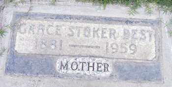 STOKER BEST, GRACE - Sutter County, California | GRACE STOKER BEST - California Gravestone Photos