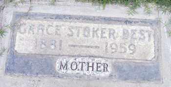 STOKER BEST, GRACE - Sutter County, California | GRACE STOKER BEST - California Gravestone Photos