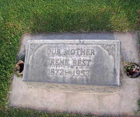 BEST, IRENE ESTELLA - Sutter County, California | IRENE ESTELLA BEST - California Gravestone Photos