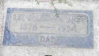 BEST, LEE VALENTINE - Sutter County, California | LEE VALENTINE BEST - California Gravestone Photos