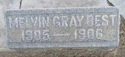 BEST, MELVIN GRAY - Sutter County, California | MELVIN GRAY BEST - California Gravestone Photos