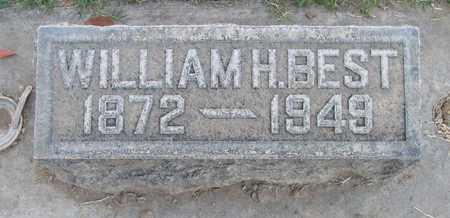BEST, WILLIAM HENRY - Sutter County, California | WILLIAM HENRY BEST - California Gravestone Photos