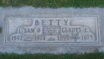 BETTY, LEONARD SAM - Sutter County, California   LEONARD SAM BETTY - California Gravestone Photos