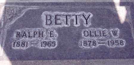 BETTY, OLLIE WILLIAM - Sutter County, California   OLLIE WILLIAM BETTY - California Gravestone Photos