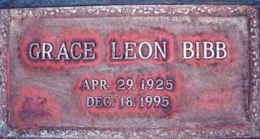 BIBB, GRACE LUCILLE - Sutter County, California | GRACE LUCILLE BIBB - California Gravestone Photos