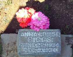 BIGGS, ANITA LOUISE - Sutter County, California | ANITA LOUISE BIGGS - California Gravestone Photos