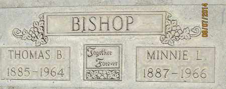 BISHOP, MINNIE LEOLA - Sutter County, California | MINNIE LEOLA BISHOP - California Gravestone Photos