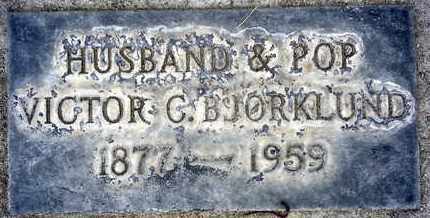 BJORKLUND, VICTOR CARL - Sutter County, California | VICTOR CARL BJORKLUND - California Gravestone Photos