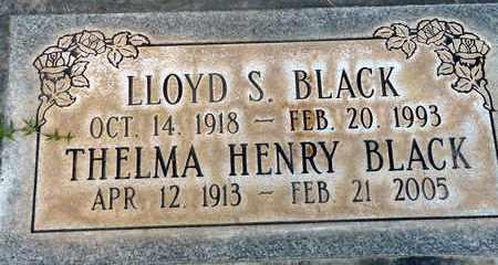 BLACK, LLOYD STOUGH - Sutter County, California | LLOYD STOUGH BLACK - California Gravestone Photos