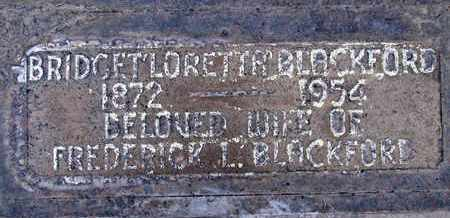 BLACKFORD, BRIDGET LORETTA - Sutter County, California   BRIDGET LORETTA BLACKFORD - California Gravestone Photos