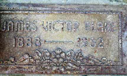 BLAKE, JAMES VICTOR - Sutter County, California | JAMES VICTOR BLAKE - California Gravestone Photos