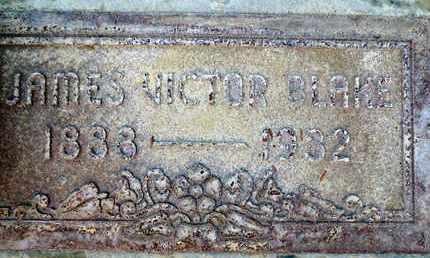 BLAKE, JAMES VICTOR - Sutter County, California   JAMES VICTOR BLAKE - California Gravestone Photos