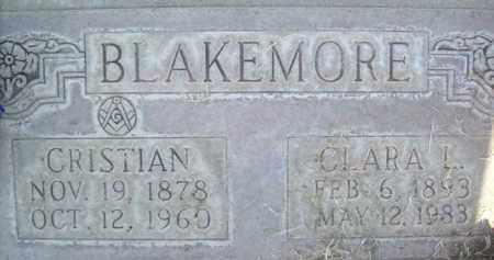 BLAKEMORE, CRISTIAN - Sutter County, California   CRISTIAN BLAKEMORE - California Gravestone Photos