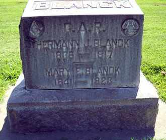 BLANCK, MARY E. - Sutter County, California | MARY E. BLANCK - California Gravestone Photos