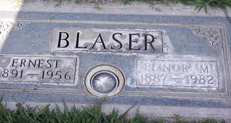 BLASER, ELINOR M. - Sutter County, California   ELINOR M. BLASER - California Gravestone Photos