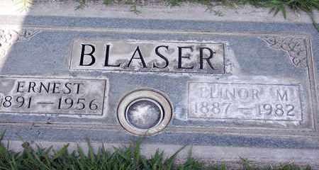 BLASER, ELINOR M. - Sutter County, California | ELINOR M. BLASER - California Gravestone Photos